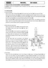 Buy Hitachi DH40SA Tool Service Manual by download Mauritron #319840