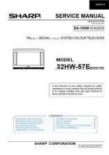 Buy Sharp 32HW-57E Service Manual by download Mauritron #322667