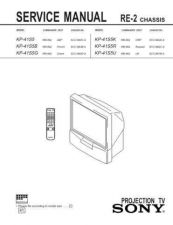Buy Sony KP43T70 TV Service Manual by download Mauritron #322871