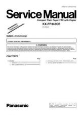 Buy Panasonic FP343CE_2 Manual by download Mauritron #299367