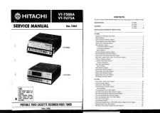 Buy Hitachi VTF362A1 Service Manual by download Mauritron #285684