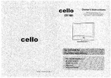 Buy Cello LTV1901 Television Operating Guide by download Mauritron #328173