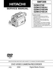 Buy Hitachi DZMV350ESWH------------------- Service Manual by download Mauritron #285317