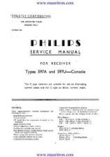 Buy PHILIPS 597 Technical by download Mauritron #315698
