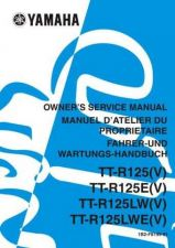 Buy Yamaha 1B2-F8199-81 Motorcycle Manual by download #333885