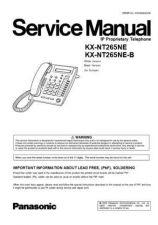 Buy Panasonic NT265E_EB Manual by download Mauritron #300736