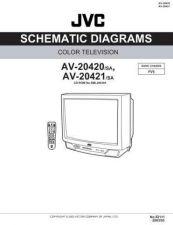 Buy JVC AV-20420sch Service Manual by download Mauritron #279498