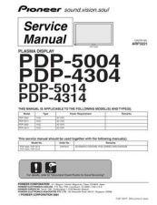 Buy Panasonic PDP-5004 (2) Manual by download Mauritron #301087