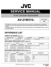 Buy JVC AV-21MX75GC Service Manual by download Mauritron #279647