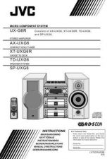 Buy JVC UX-G6R[E]IT Service Manual by download Mauritron #284285