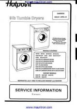 Buy Hotpoint 9325 Manual by download Mauritron #326773