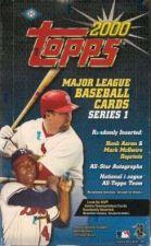 Buy sealed HOBBY box 2000 TOPPS BASEBALL SERIES 1 one 36 packs MLB TOPPS