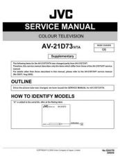Buy JVC AV-21BT8ENB Service Manual by download Mauritron #279584