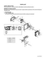 Buy JVC GR-SXM357 part Service Manual by download Mauritron #280883