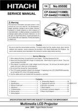 Buy Hitachi CP-S335_X340_X345 Service Manual by download Mauritron #289152