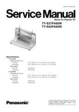 Buy Panasonic TY-S37PA60W Manual by download Mauritron #302549