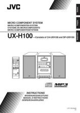 Buy JVC UX-H100-3 Service Manual by download Mauritron #284352