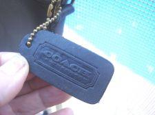 Buy COACH CROSS BODY BLACK CANTERBURY Bag Leather USA Brass Dome Shape VINTAGE