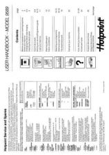 Buy Hotpoint 9589 Washer Operating Guide by download Mauritron #307445