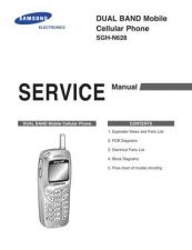 Buy Samsung SGH-N628 Mobile Phone Service Manual by download Mauritron #306398