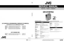 Buy JVC GR-DVM76 Service Manual by download Mauritron #279232