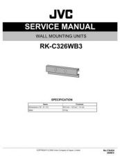Buy JVC RK-C326WB3 Service Manual by download Mauritron #283072
