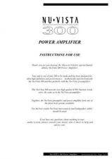 Buy Musical Fidelity NV300 ENG Operating Guide by download #333413