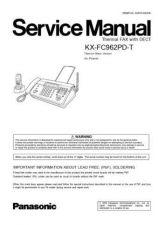 Buy Panasonic FC962PD Manual by download Mauritron #299130