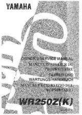 Buy Yamaha 5EN-28199-30 Motorcycle Manual by download #334396