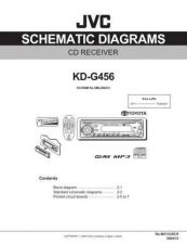 Buy JVC KD-G456-4 Service Manual by download Mauritron #281965