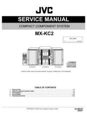 Buy JVC MX-KC2 Service Manual by download Mauritron #282974