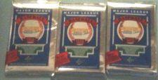 Buy 3 new 1989 UPPER DECK baseball FOIL PACKS sealed - new