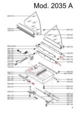 Buy Office Equipment IDEAL 2035 A CUTTER PARTS by download #335460