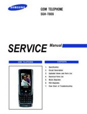 Buy Samsung SGH-T809 Mobile Phone Service Manual by download Mauritron #306445