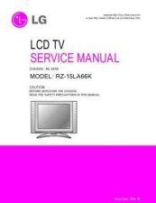 Buy LG RZ-15LA66K Service Manual by download Mauritron #322535