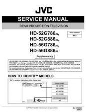 Buy JVC HD-56G786 Service Manual by download Mauritron #281096