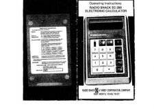 Buy Radio Shack EC-200 by download Mauritron #327818
