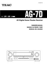 Buy Teac AG7DEFSB Operating Guide by download Mauritron #318271
