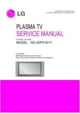 Buy LG RZ-42PX10 Service Manual by download Mauritron #322542