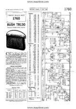 Buy BUSH TR130 VINTAGE WIRELESS SERVICE SHEETS by download Mauritron #328144