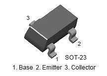 Buy SMT Transistor - BC847 NPN (SOT-23) - 35 Pieces
