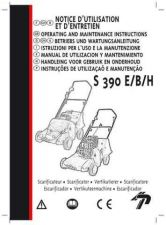 Buy Mountfield S38 SCARIFIER Operating Guide by download Mauritron #332696