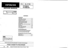 Buy Hitachi VTFX795A Service Manual by download Mauritron #287291