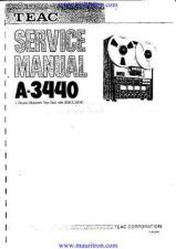 Buy Teac A3440 Service by download Mauritron #321632
