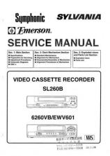Buy Emerson 6260VB Service Manual by download Mauritron #330493