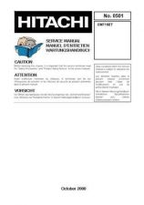 Buy Hitachi CM721FET Service Manual by download Mauritron #288982