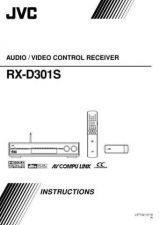 Buy JVC RX-D301S-4 Service Manual by download Mauritron #283252