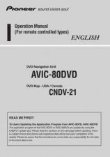 Buy JVC 2038096Operation Manual AVIC-80DVD 20037161752143670 Service Manual by download M