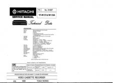 Buy Hitachi VTM140A1 Service Manual by download Mauritron #285829