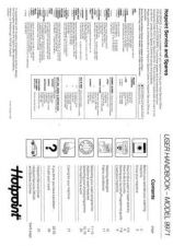 Buy Hotpoint 9971 Washer Operating Guide by download Mauritron #307461